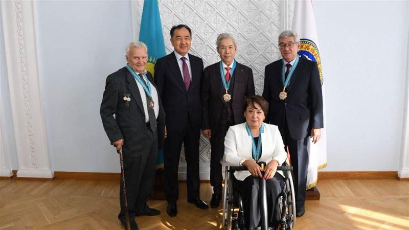 В День города в Алматы появились новые почетные граждане