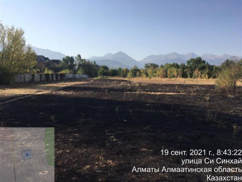 В Алматы снова случился пожар