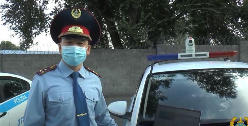 «Сергек» и патрульные ловят неплательщиков штрафов в Алматы