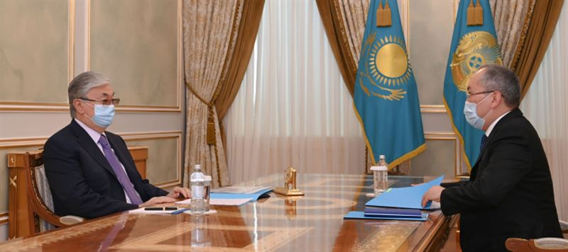 О борьбе с теневой экономикой в Казахстане доложили Токаеву