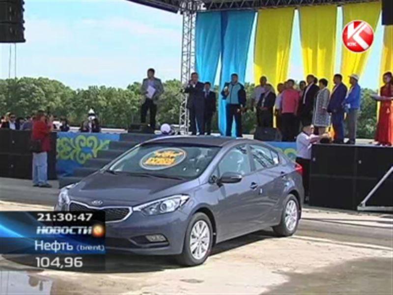 Победитель «Казахстан Барысы» вернулся на родину