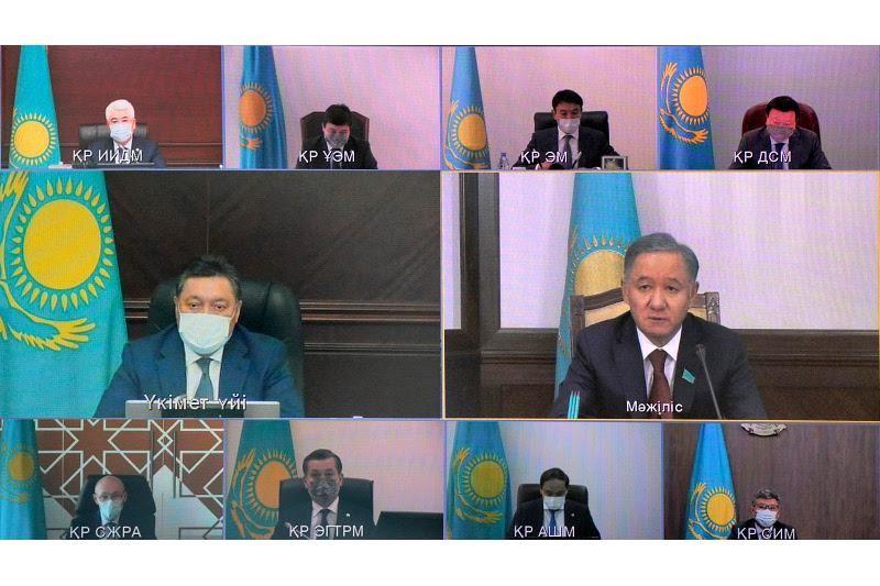 Мамин провел заседание Национальной комиссии по модернизации