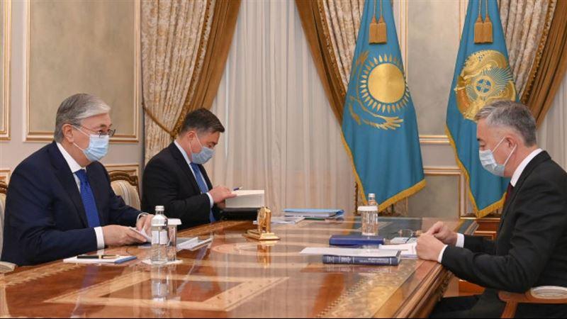 Президент принял председателя Агентства по защите и развитию конкуренции