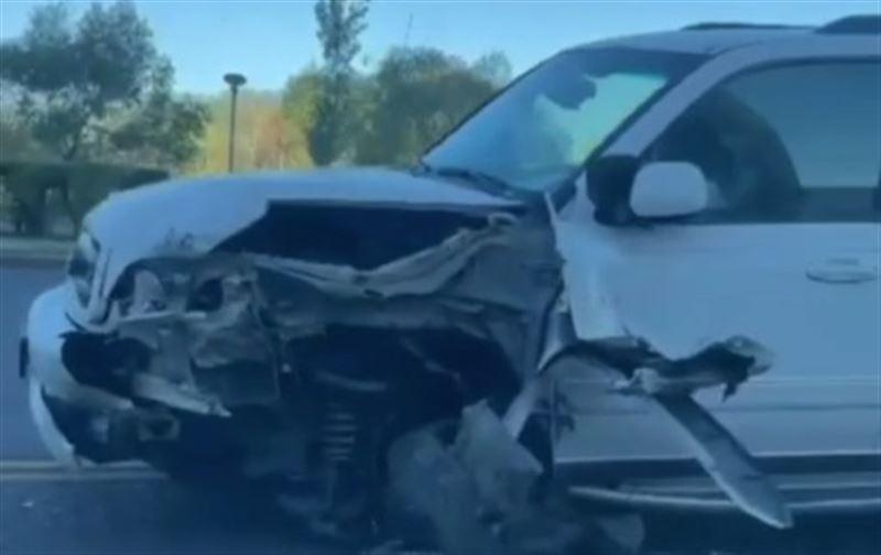 В Нур-Султане водителя «Лады» госпитализировали после ДТП