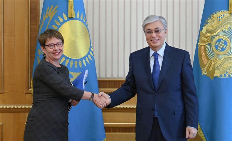 Токаев встретился с президентом Европейского банка реконструкции и развития