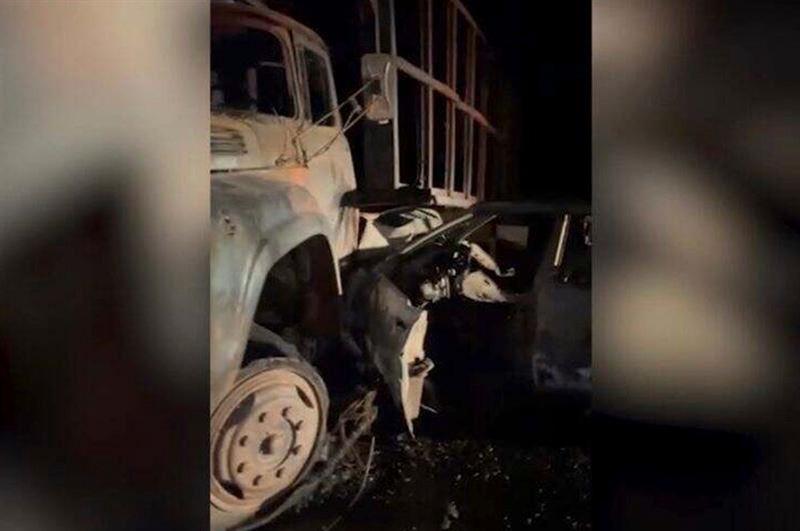 Страшное ДТП произошло в Жамбылской области: погибли два человека