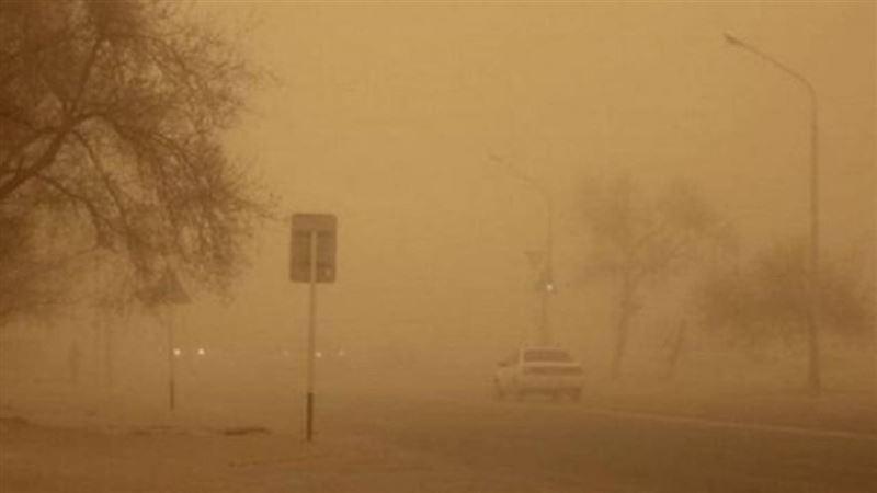 Мангистау накрыла пыльная буря