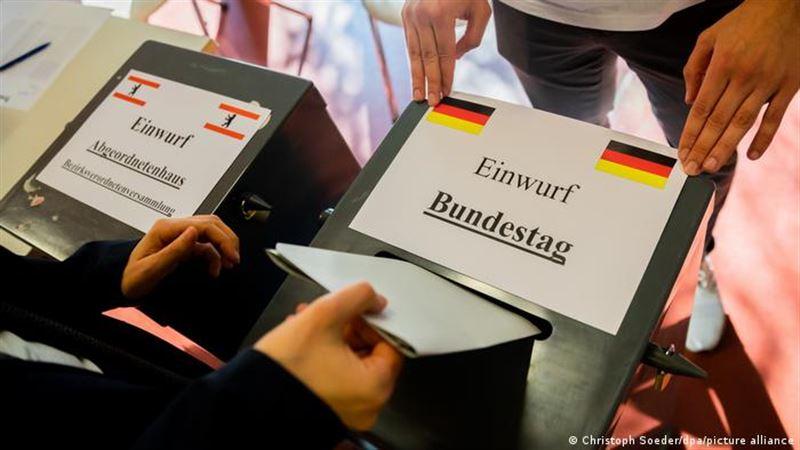 Социал-демократы выиграли на выборах в бундестаг Германии