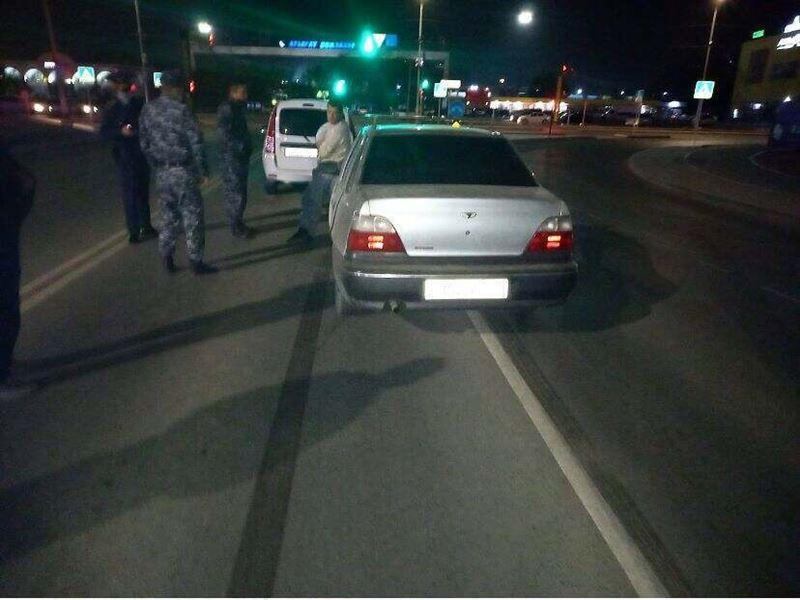 Пьяный мужчина угнал авто в Атырау