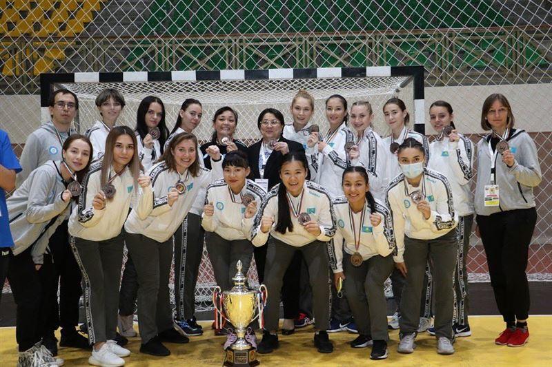 Женская сборная РК по гандболу взяла «бронзу» на чемпионате Азии