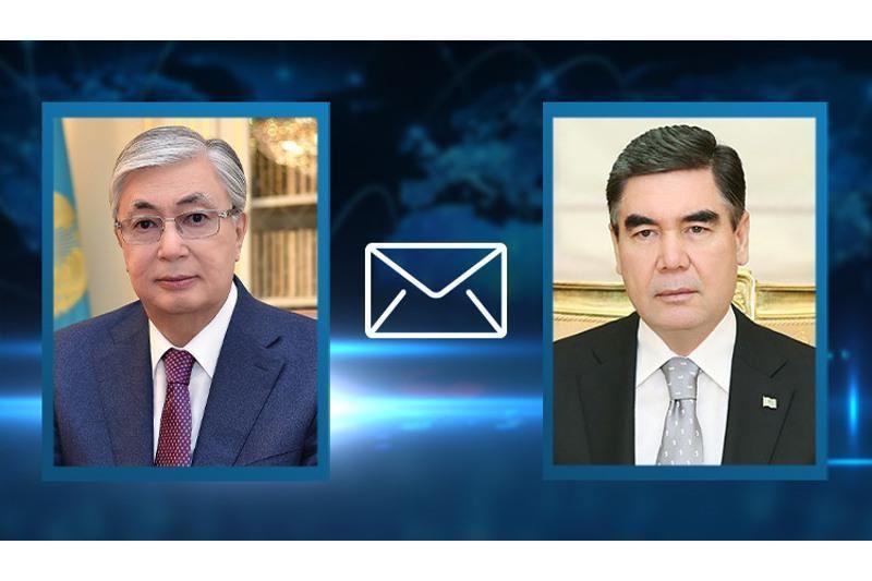 Тоқаев Түрікменстан басшысына жеделхат жолдады