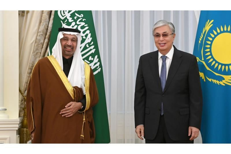 Тоқаев Сауд Арабиясының инвестиция министрін қабылдады