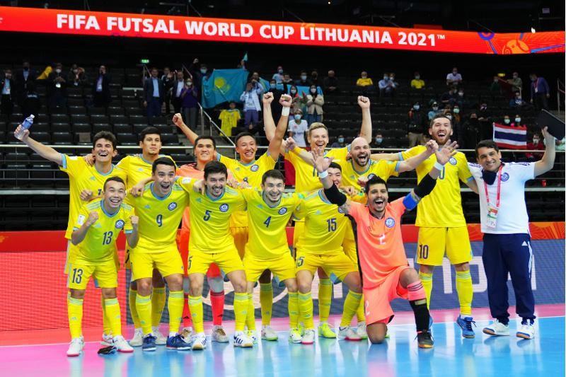 Токаев поздравил сборную РК по футзалу с выходом в полуфинал чемпионата мира