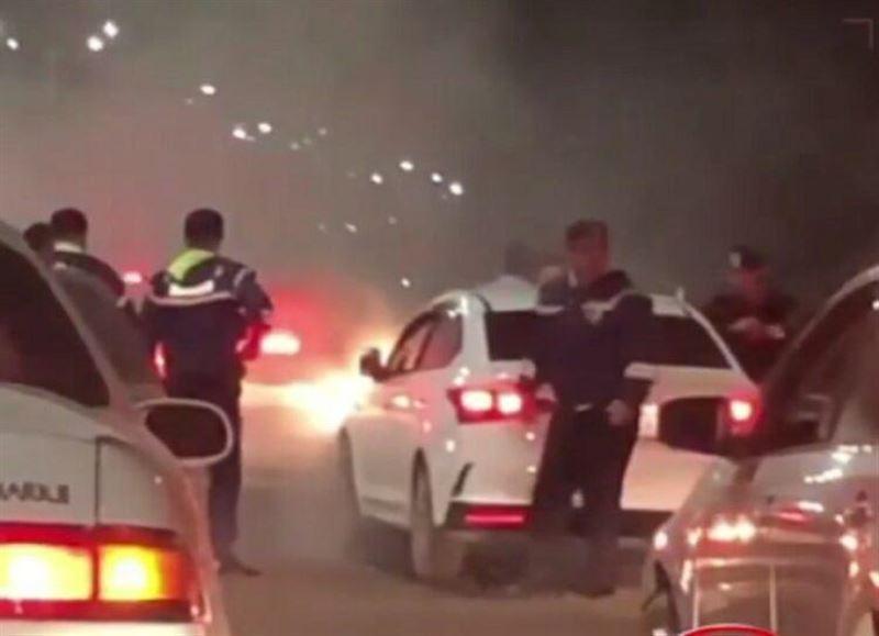 Массовое ДТП: молодого угонщика задержали полицейские Алматы