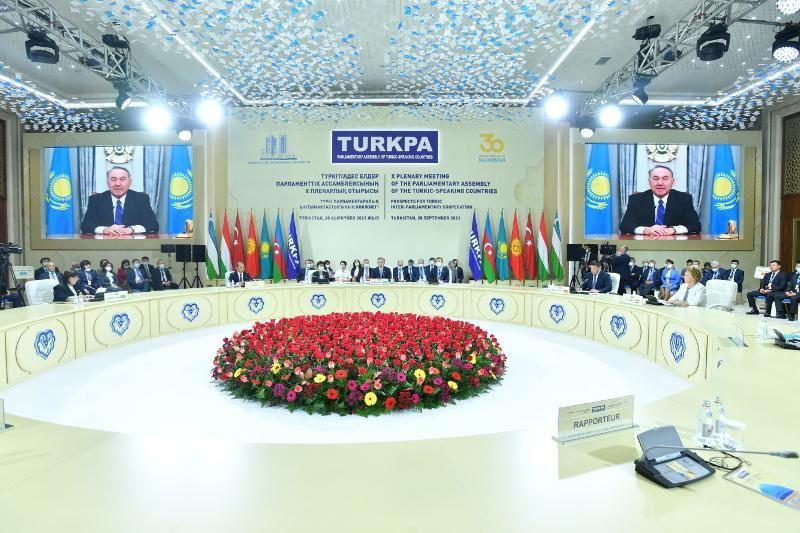 Назарбаев направил приветствие участникам Х пленарного заседания ТюркПА