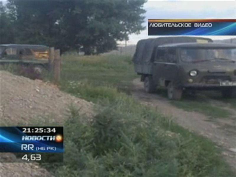 Жамбылские сельчане утверждают, что пограничники угнали у них табун лошадей