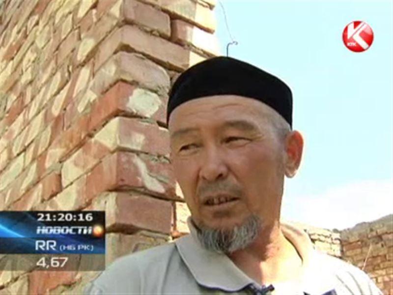 60 семей захватили землю под Алматы