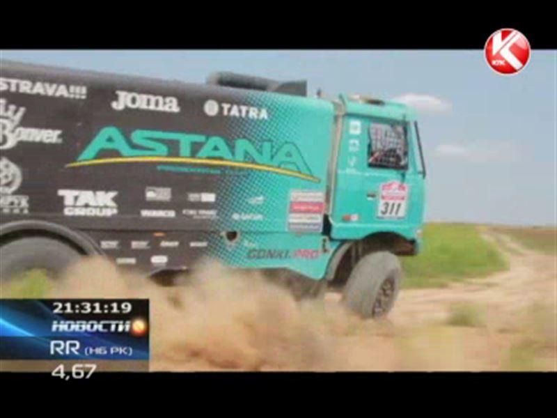 «Астана» поднялась на подиум пятого этапа ралли-марафона «Шелковый путь»