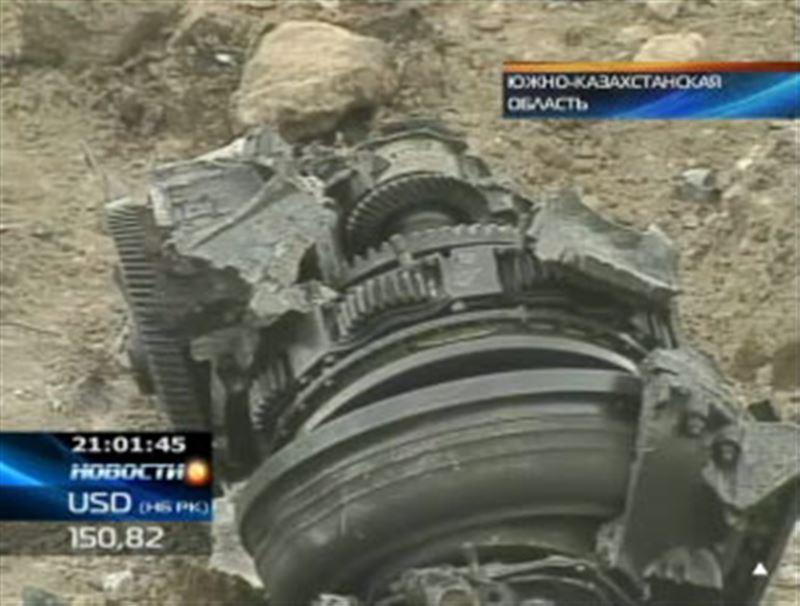 Причина крушения вертолета Ми-8, разбившегося вчера в Южно-Казахстанской области, будет известна уже в ближайшие дни