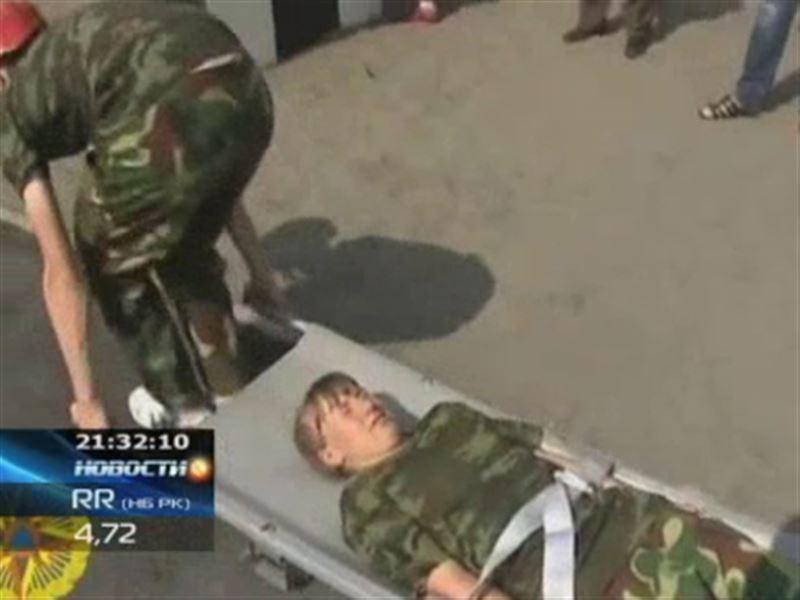 Маленькие казахстанцы стали лучшими среди юных спасателей
