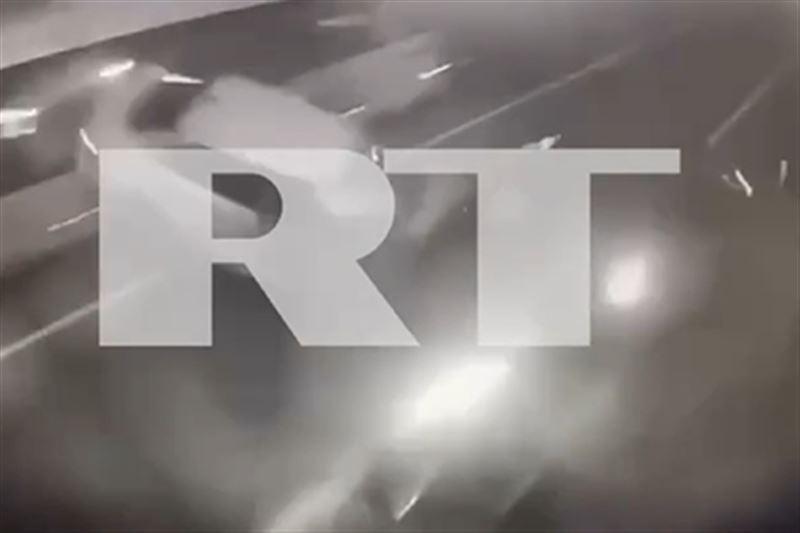 Опубликовано видео момента ДТП с участием Собчак