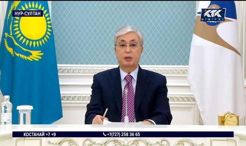 Токаев призвал коллег по ЕАЭС не допустить дефицита продуктов