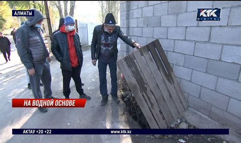 За 7 лет в новый алматинский микрорайон не провели водопровод