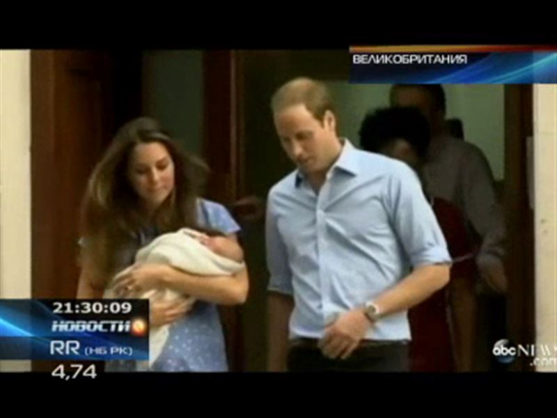 Герцог и герцогиня Кембриджские показали подданным маленького принца