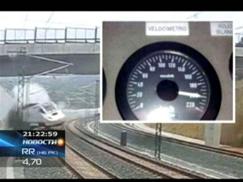 В Испании арестовали машиниста поезда, сошедшего с рельсов