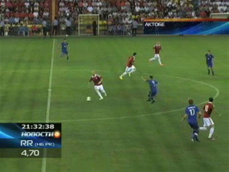 Футболисты «Актобе» вышли в третий отборочный раунд Лиги Европы УЕФА