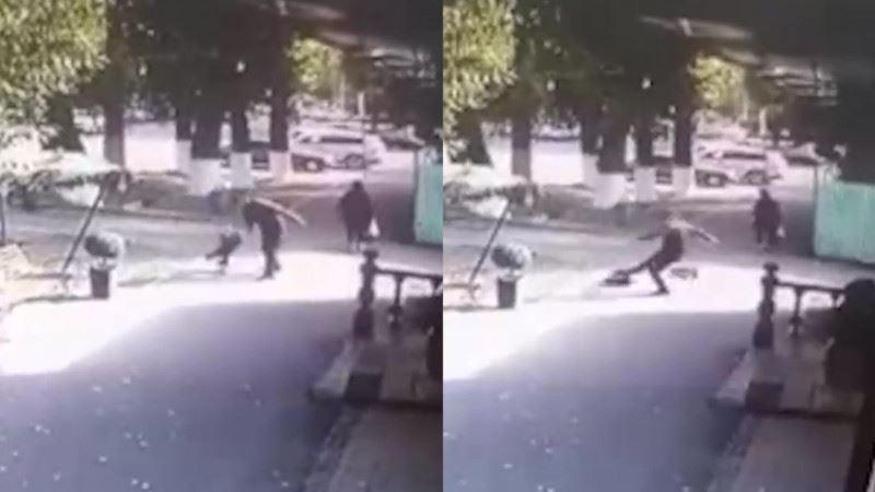 Психически больной мужчина избил ребенка в Таразе