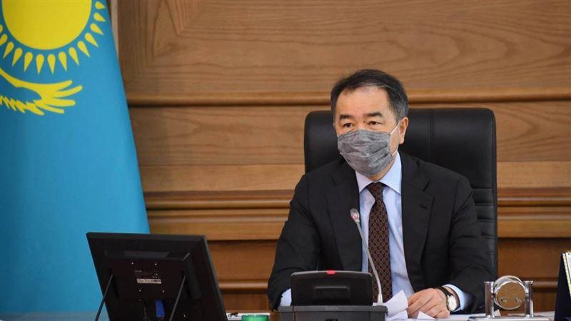 Эпидситуация в Алматы развивается по оптимистичному прогнозу – Сагинтаев