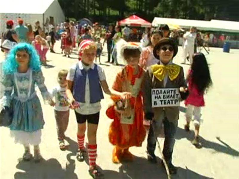 Первый семейный фестиваль прошел в Алматинской области