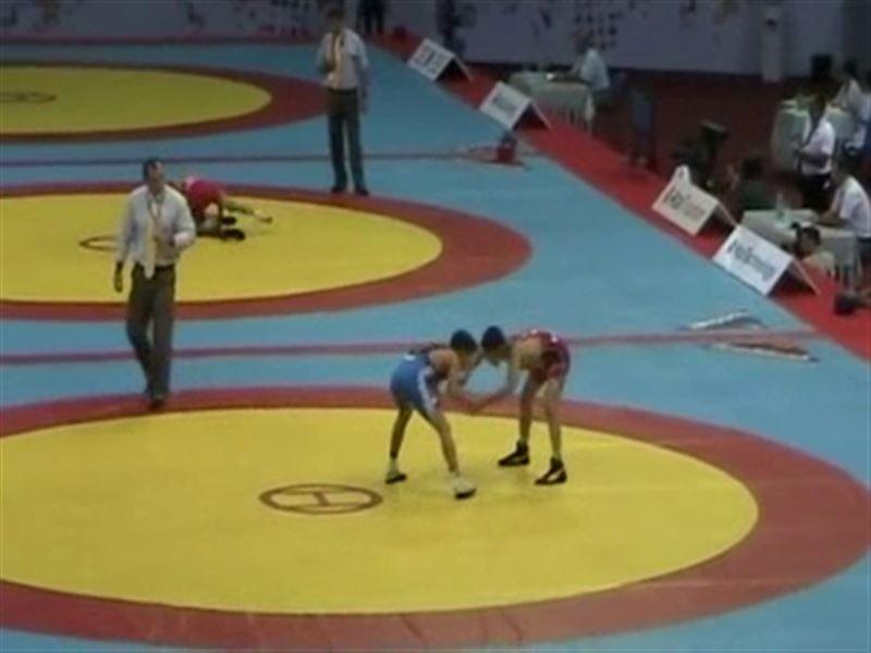 Казахстанские борцы завоевали 22 медали на чемпионате Азии среди кадетов