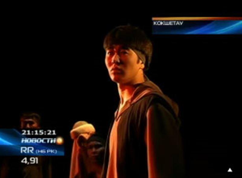 На сцене Акмолинского музыкально-драматического театра поставили  драму «Махамбет»