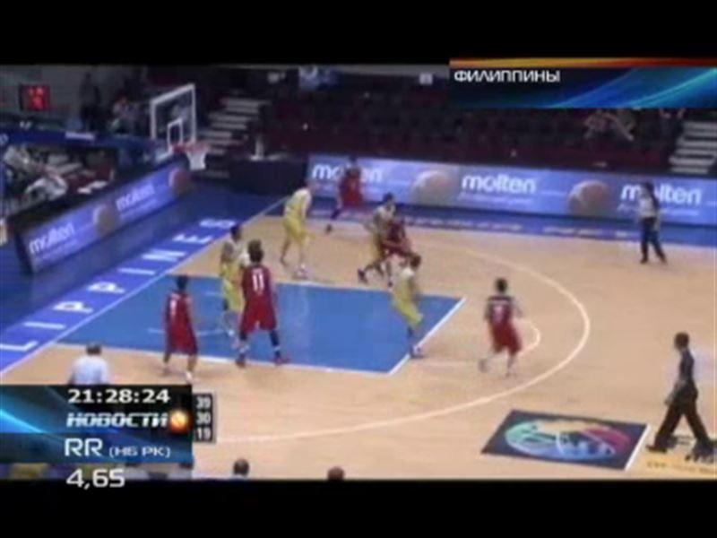 Казахстанские баскетболисты с победы стартовали на чемпионате Азии