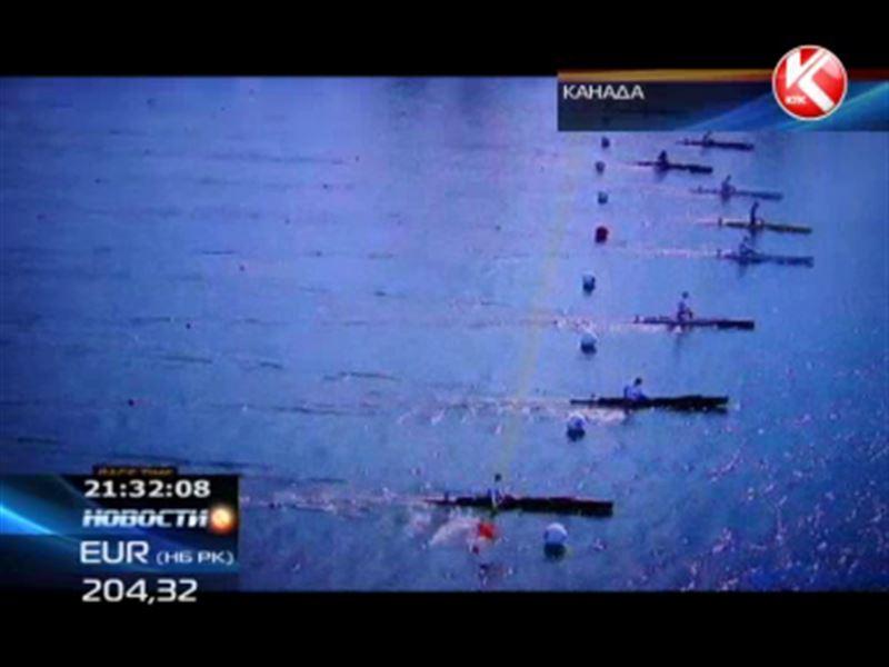 Гребец Сергей Емельянов завоевал серебряную медаль на чемпионате мира среди юниоров