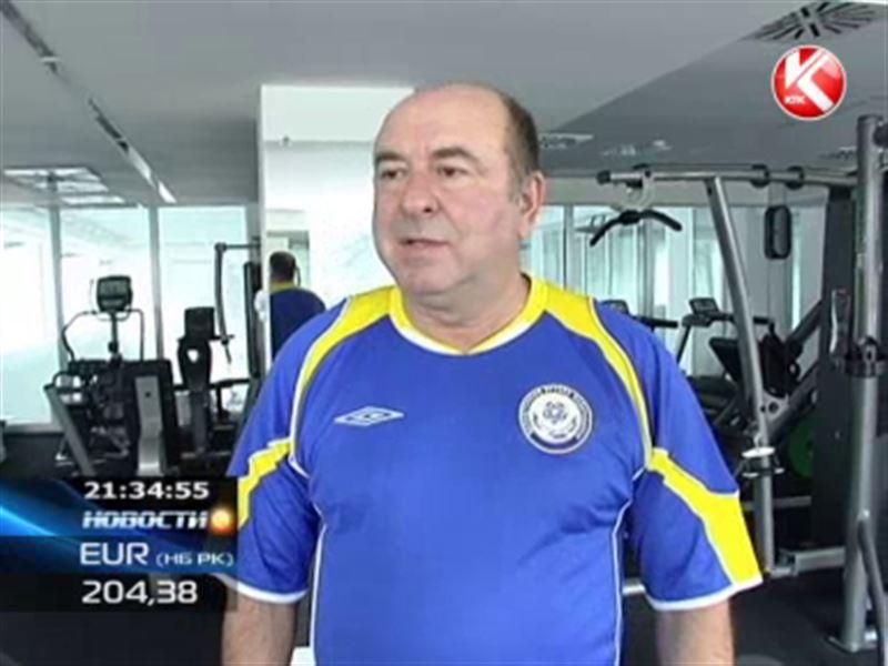 Юбилей отмечает ветеран казахстанского футбола Михаил Гурман