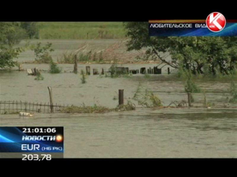 Костанайская область уходит под воду