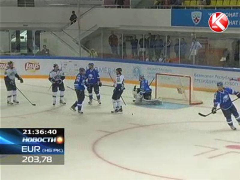 В Астане проходит Кубок Президента по хоккею с шайбой
