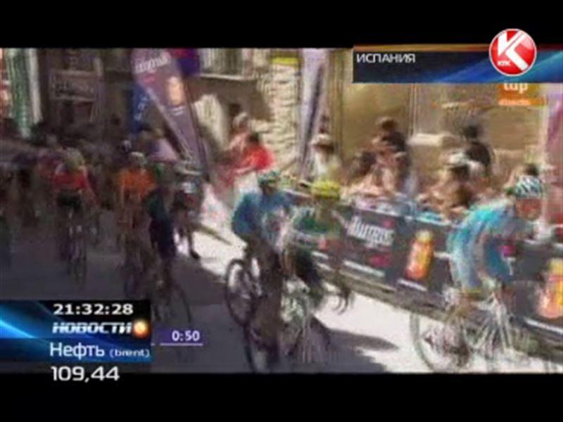 Велосипедисты «Астаны» взяли бронзу по итогам испанской многодневки «Тур Бургоса»