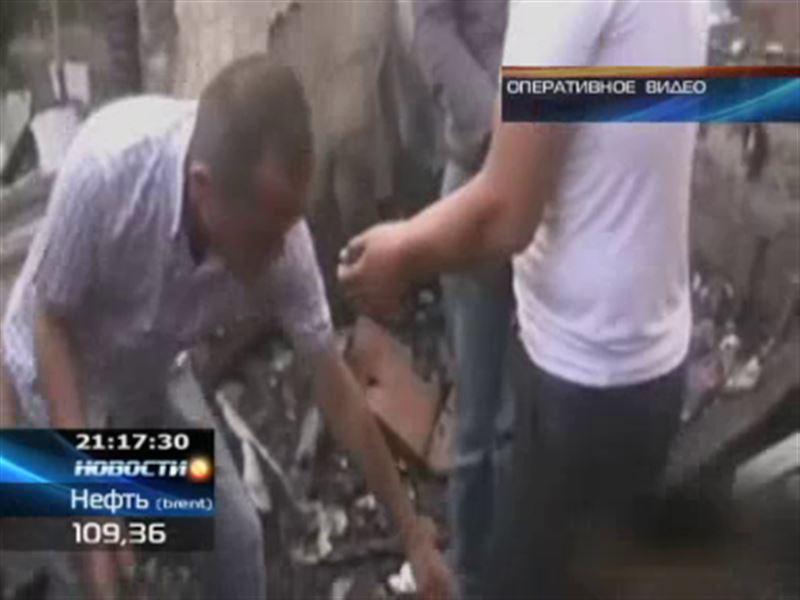 В Кокшетау изверг избил, связал и поджег собственного друга