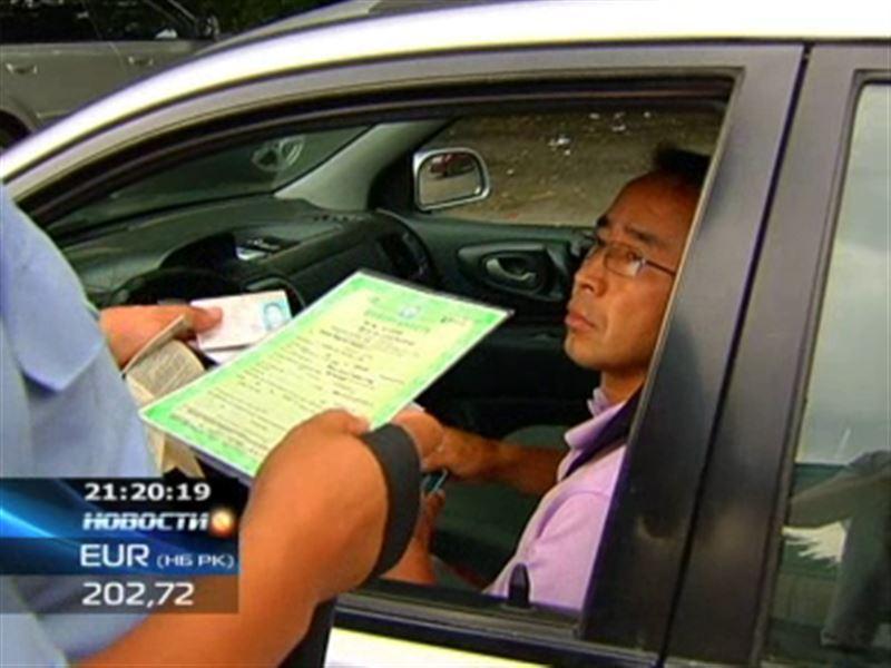Машины с киргизскими номерами вновь отправляют на штраф-стоянку