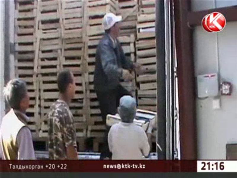 У киргизских контрабандистов изъяли 20 тонн утиного филе