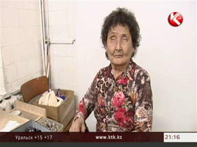 Алматинские слепые могут остаться без отопления