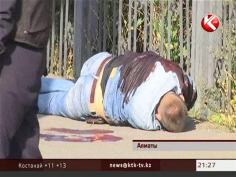 В Алматы неизвестные расстреляли инкассаторов, один погиб на месте