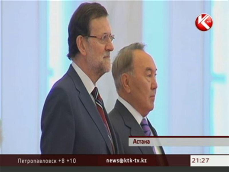 Нурсултан Назарбаев зарядил испанцев оптимизмом