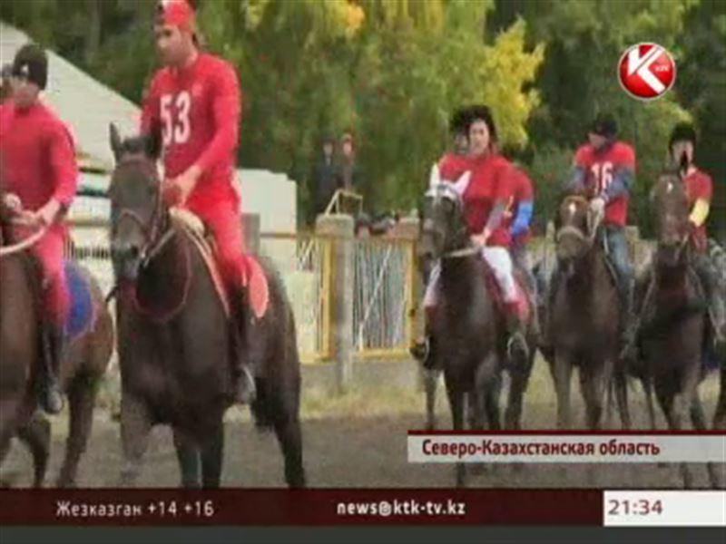 Аблай хан предстал перед жителями Северного Казахстана
