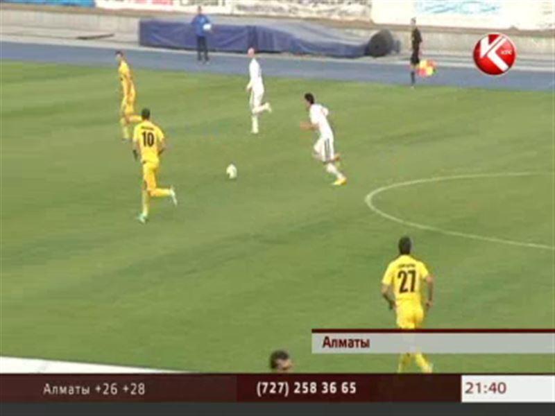 «Актобе» стал ещё ближе к победе в чемпионате Казахстана по футболу