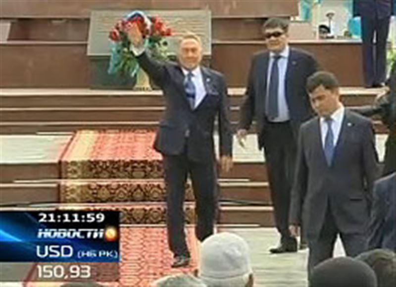 Нурсултан Назарбаев прибыл с рабочим визитом в Южный Казахстан